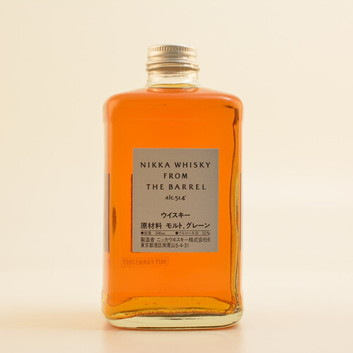Nikka from the Barrel Japanese Whisky 51,4% 0,5l