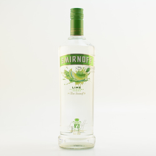 Smirnoff Lime Vodka 1,0l 37,5%