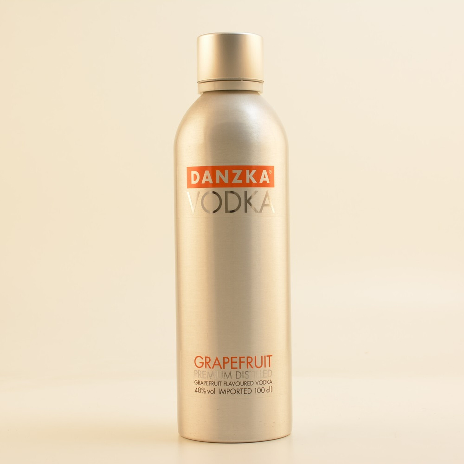 Danzka Vodka Grapefruit 40% 1,0l