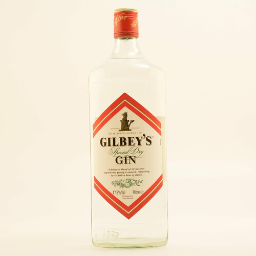 Gilbeys Gin 47,5% 1,0l
