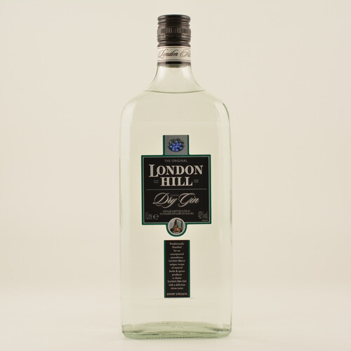 London Hill Dry Gin 43% 1,0l