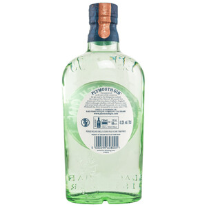 Plymouth Gin 41,2% 0,7l