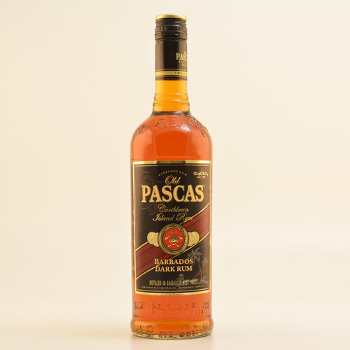 Old Pascas Ron Negro Dark Barbados Rum 37,5% 0,7l