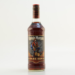 Captain Morgan Black Label Dark Rum 40% 0,7l