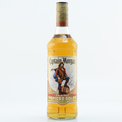 Captain Morgan Spiced Gold (Rum-Basis) 35% 0,7l