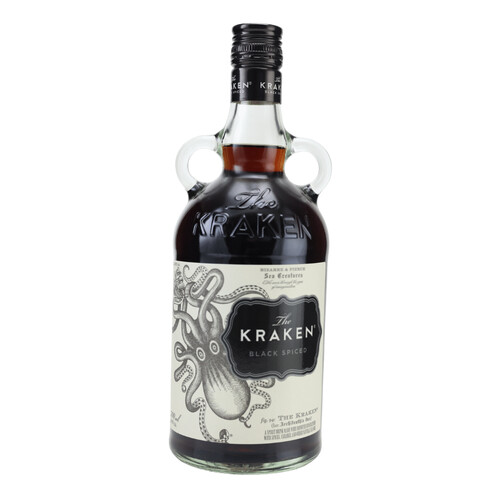 Kraken Black Spiced (Rum-Basis) 40% 0,7
