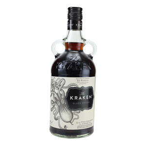 Kraken Black Spiced (Rum-Basis) 40% 0,7l + Glas