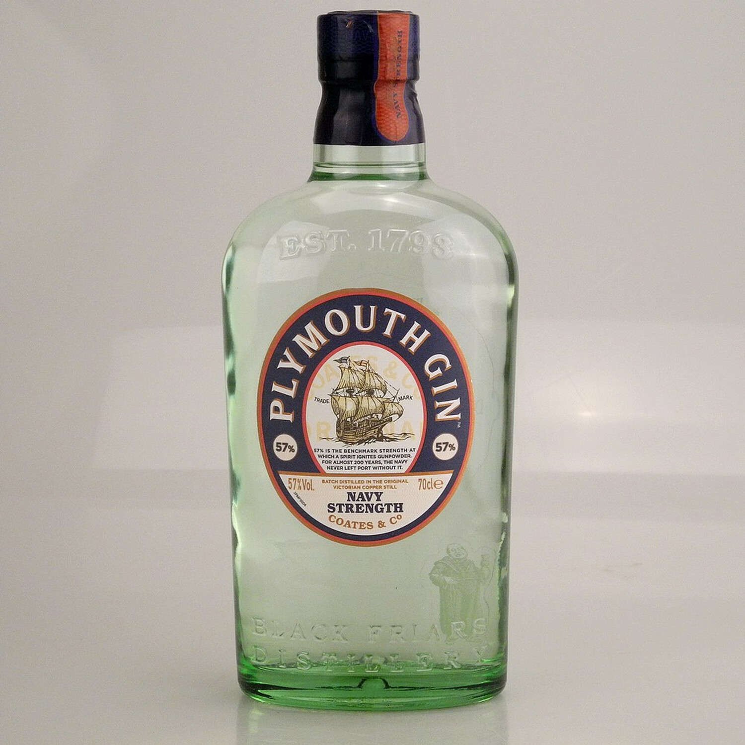 Plymouth Gin Navy Strength 57% 0,7l
