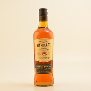 Bacardi Oakheart Spiced Spirit Drink (Rum-Basis) 35% 0,7l