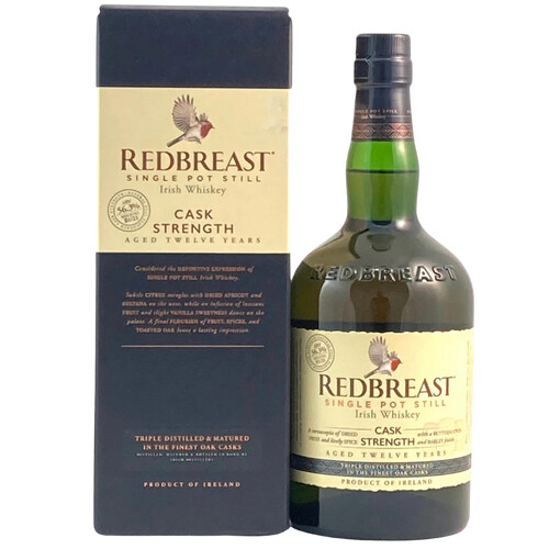 Redbreast 12 Jahre Cask Strength Irish Whiskey 0,7l 57,2%