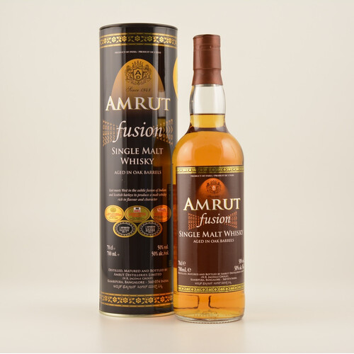 Amrut Fusion Indian Whisky 0,7l 50%