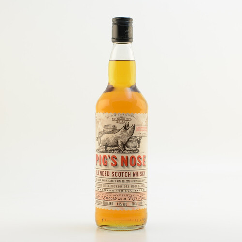 Pig's Nose Blended Malt Whisky 0,7l 40%