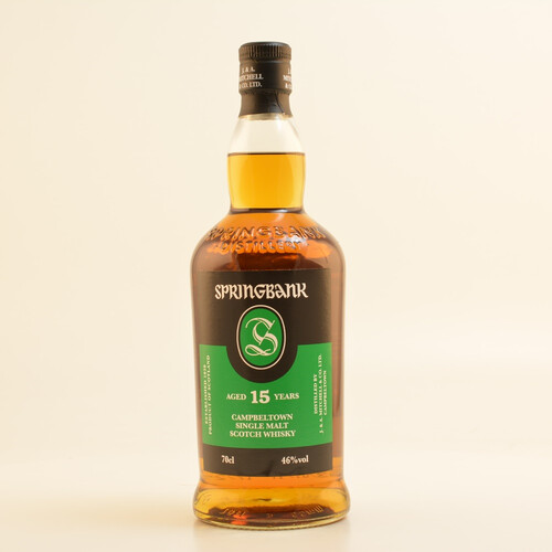 Springbank 15 Jahre Campbeltown Whisky 46% 0,7l