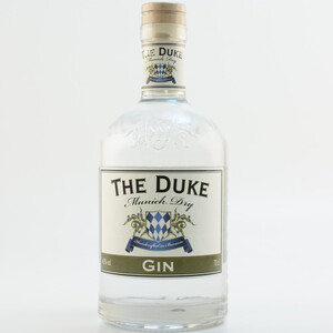 The Duke Munich Dry Gin 45% 0,7l + The Duke Wanderlust Miniatur Gratis