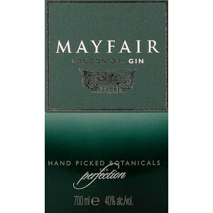 Mayfair London Dry Gin 40% 0,7l