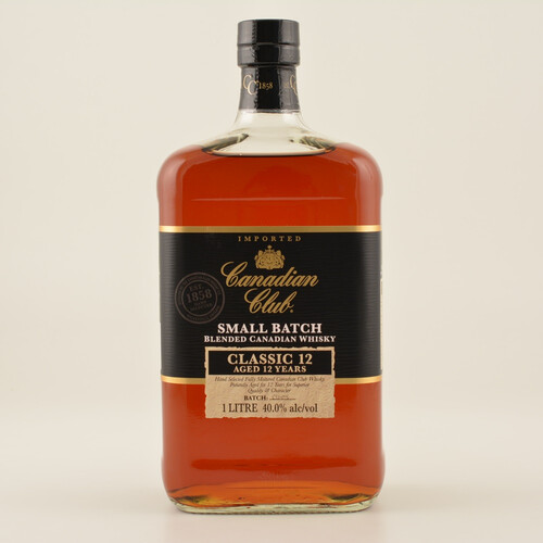 Canadian Club Classic Whisky 12 Jahre 40% 1,0l