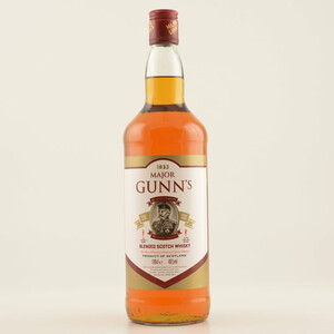 Major Gunns Blended Scotch Whisky 40% 1,0l