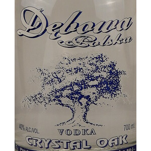 Debowa Vodka Chrystall Oak 40% 0,7l