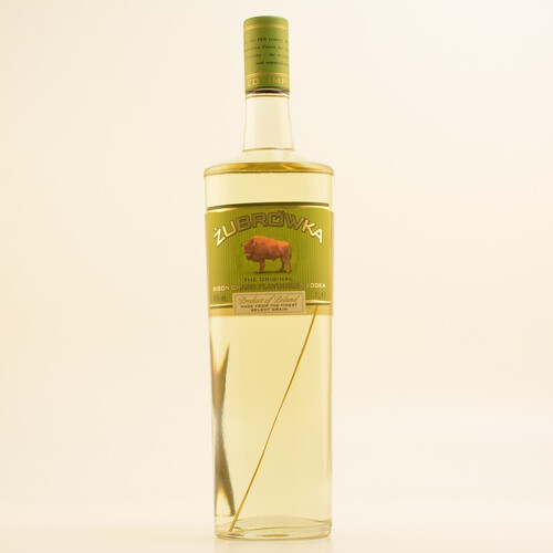 Zubrowka Vodka Bison Gras 40% 1,0l