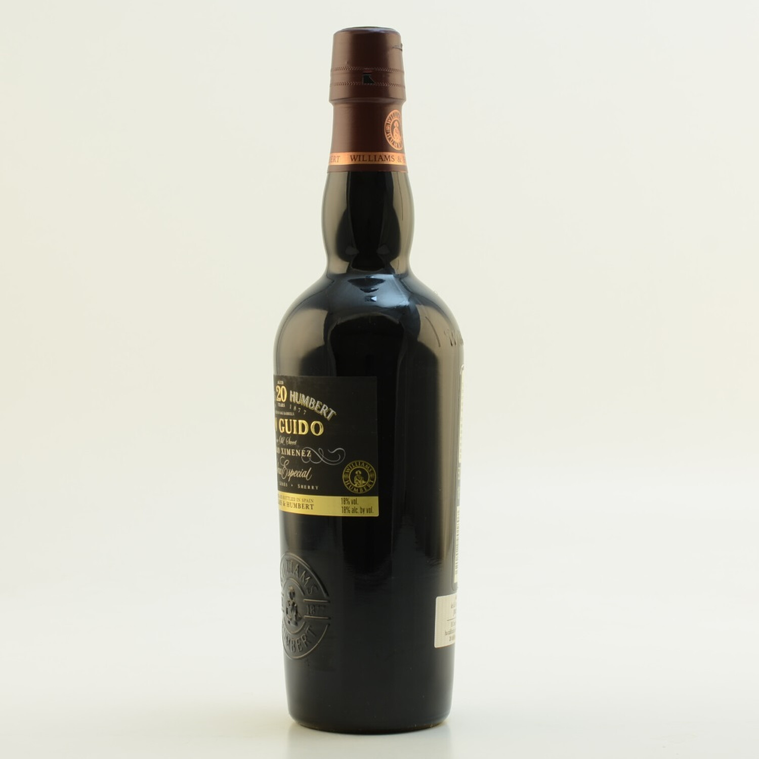 W&H Sherry Don Guido PX 20 Jahre Solera Especial 18% 0,7l