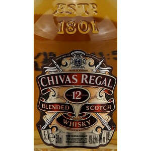 Chivas Regal 12 Jahre Whisky MINI 0,05l