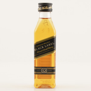 Johnnie Walker Black Label Scotch Whisky MINI PET 40% 0,05l