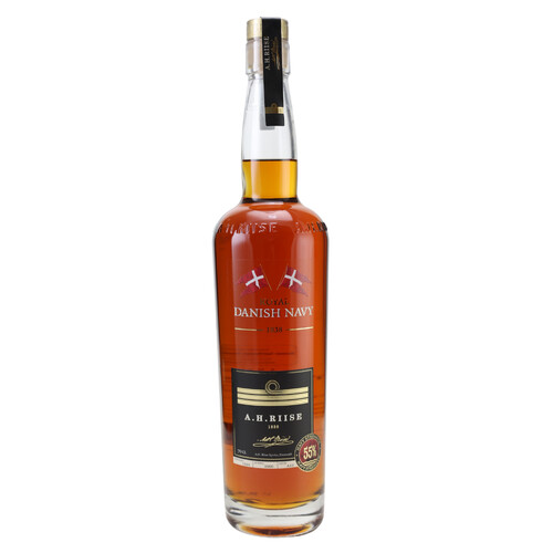A.H. Riise Danish Navy Strength Rum 55% 0,7l