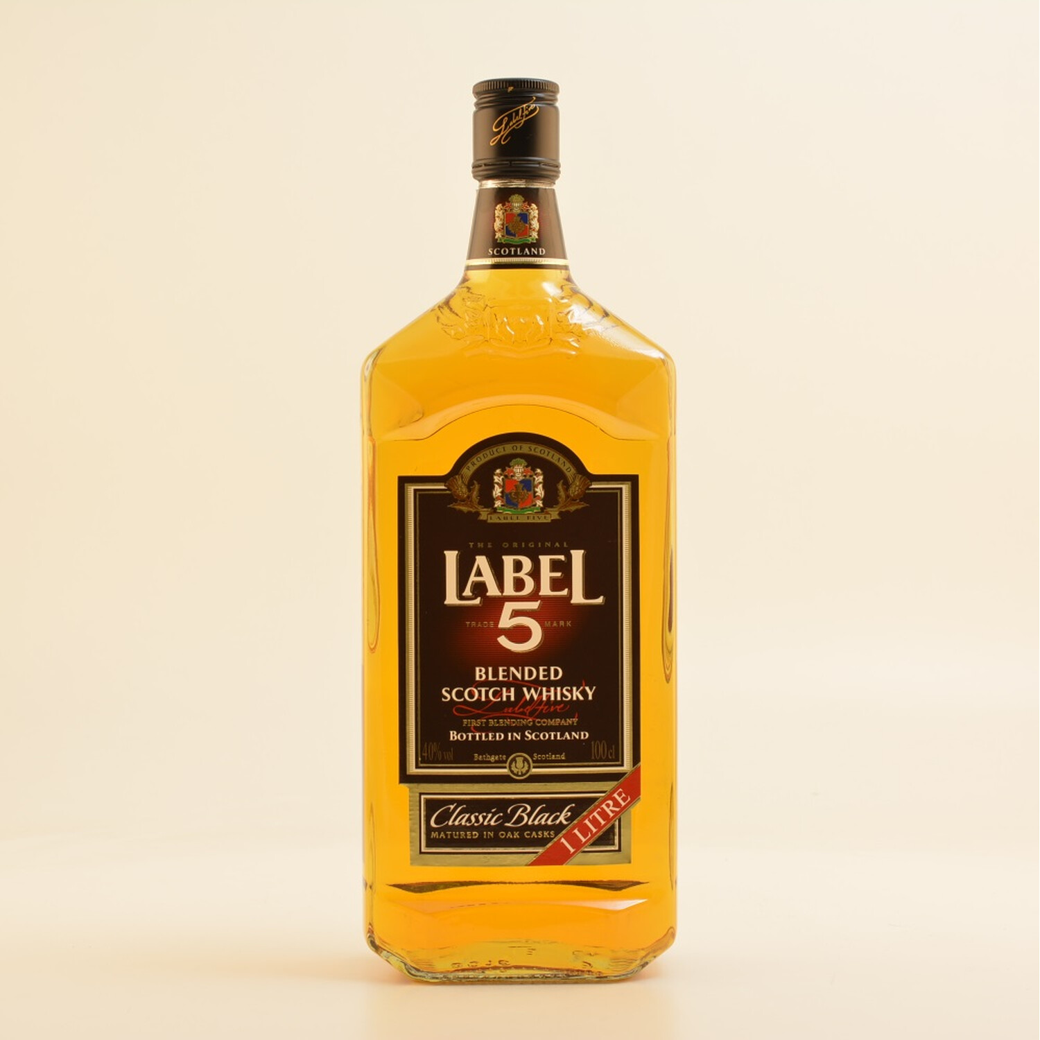Label 5 Whisky Classic Black 40% 1,0l (14,90 € ...