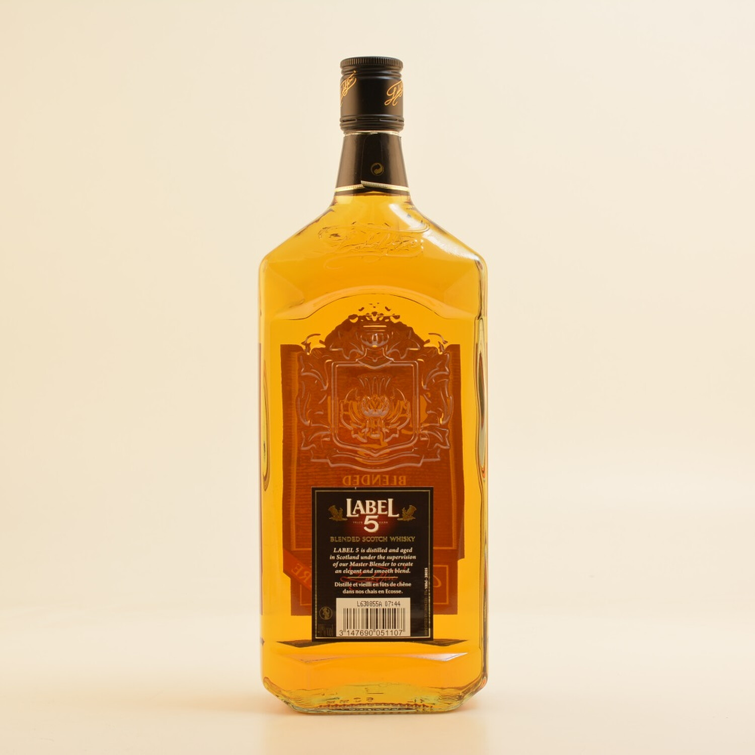 Label 5 Whisky Classic Black 40% 1,0l