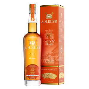 A.H. Riise XO Reserve Ambre d'Or Rum 42% 0,7l
