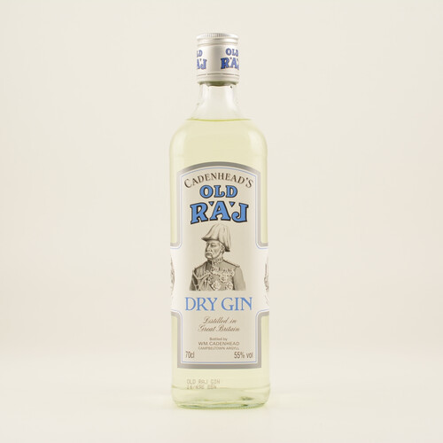 Cadenhead's Old Raj Gin Extra Strong 55% 0,7l