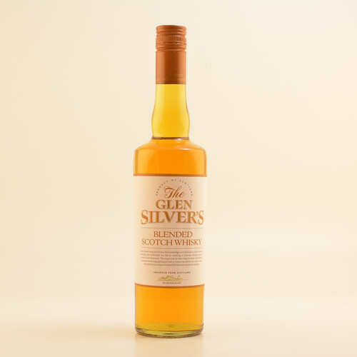 Glen Silvers Blended Scotch Whisky 40% 0,7l