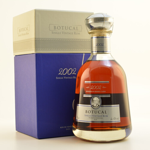 Ron Botucal 2002 Single Vintage Rum 43% 0,7l