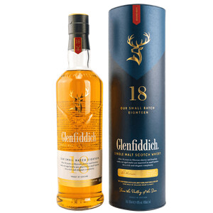 Glenfiddich 18 Jahre Small Batch Reserve Whisky 40% 0,7l