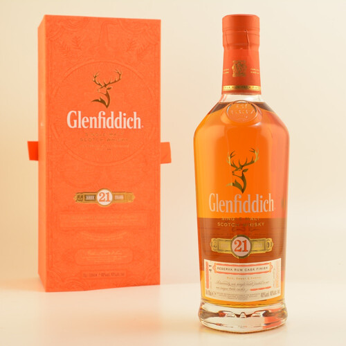 Glenfiddich 21 Jahre Gran Reserva Single Malt Whisky 40% 0,7l