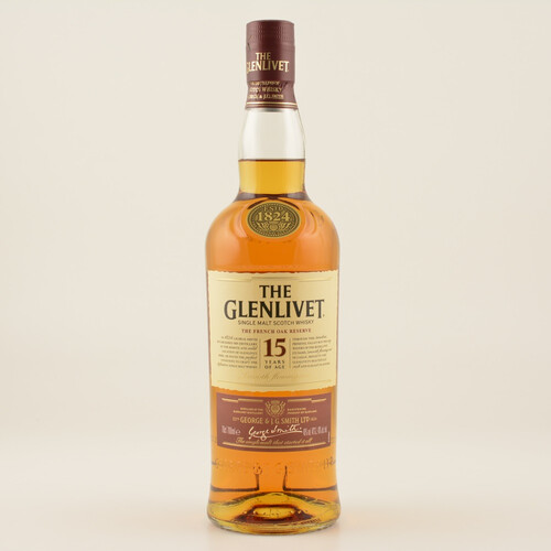 Glenlivet 15 Jahre French Oak Speyside Whisky 40% 0,7l