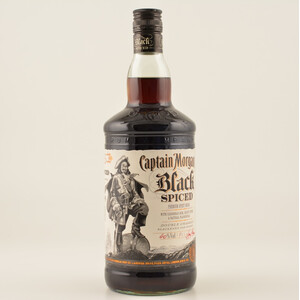 Captain Morgan Black Spiced Rum 40% 1,0l