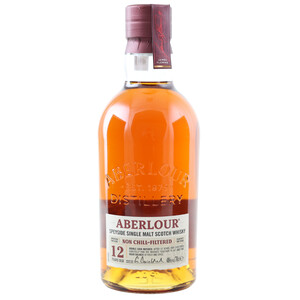 Aberlour 12 Jahre Non Chill-Filtered Speyside Whisky 48% 0,7l