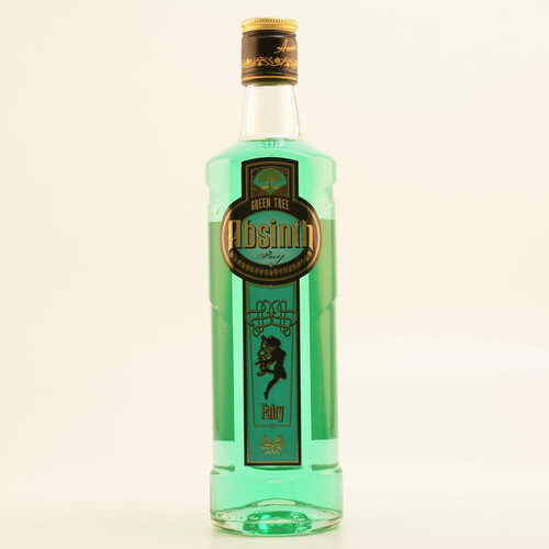 Absinth Czech Green Tree Fairy 70% 0,5l