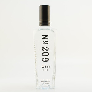 Gin No: 209 46% 0,7l + Gin Quartett