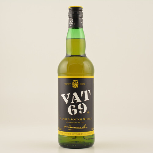 VAT 69 Blended Scotch Whisky 40% 0,7l