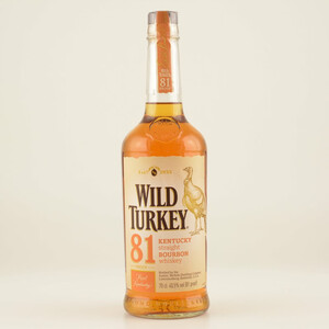 Wild Turkey 81 Proof Bourbon Whiskey 40,5% 0,7l