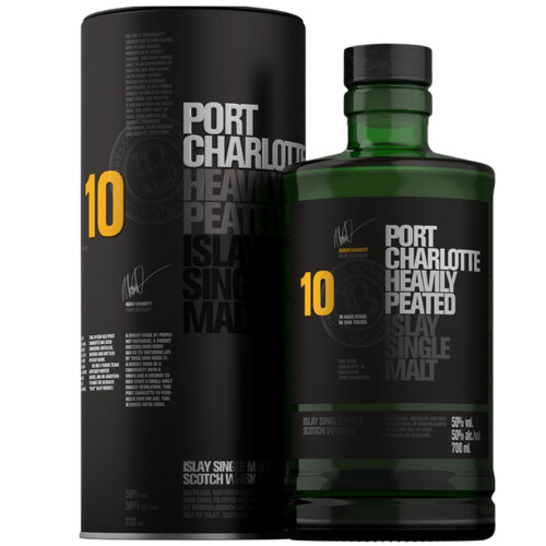 Bruichladdich Port Charlotte Barley Peated Whisky 50% 0,7l