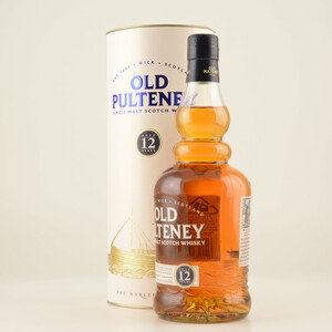 Old Pulteney 12 Jahre Highland Whisky 40% 0,7l