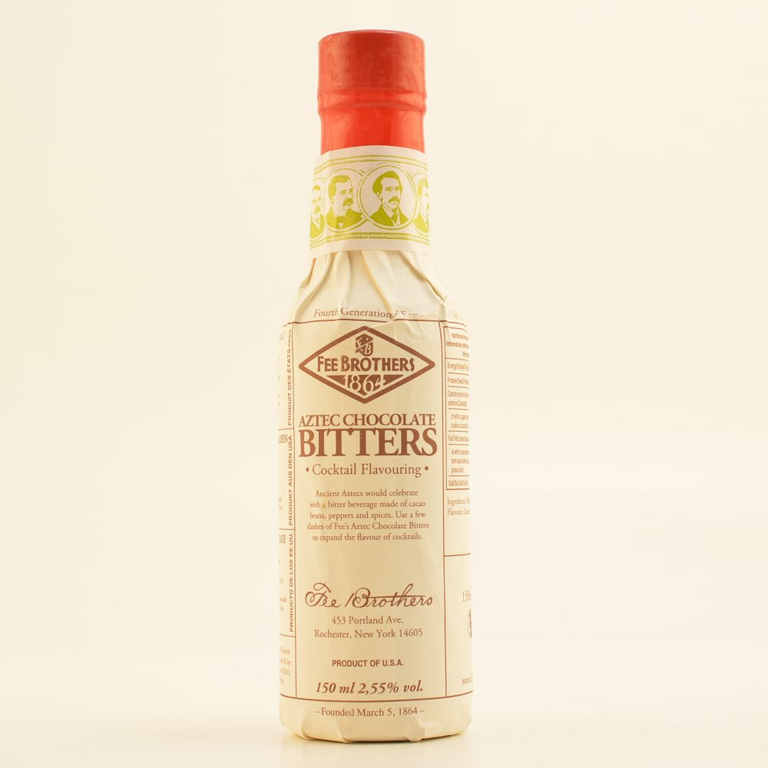 Fee Brothers Aztec Chocolate Bitters 2,55% 0,15...