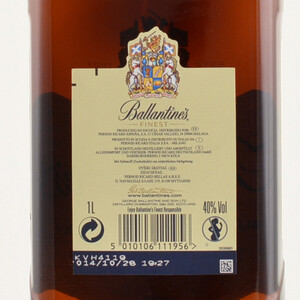 Ballantines Finest Scotch Whisky 40% 1,0l