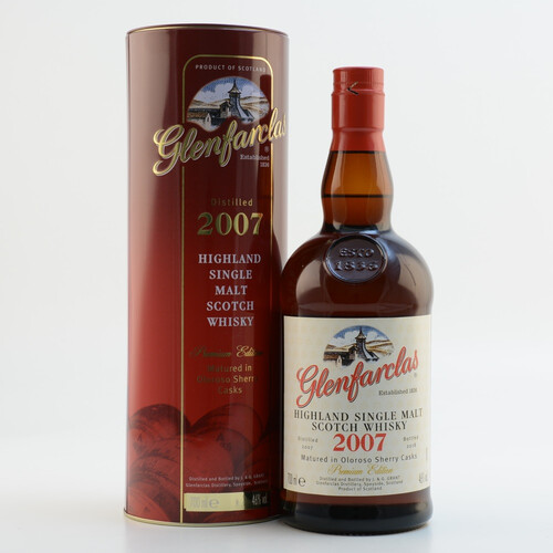Glenfarclas 2007 Oloroso Sherry Butts Whisky 46% 0,7l