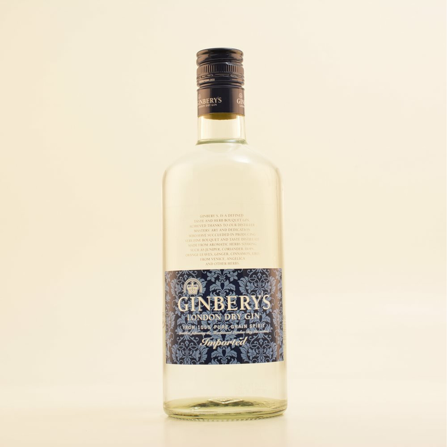 Ginbery´s Gin London Dry Gin 37,5% 0,7l (14,14 € pro 1 l)