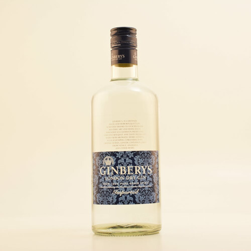 Ginbery´s Gin London Dry Gin 37,5% 0,7l