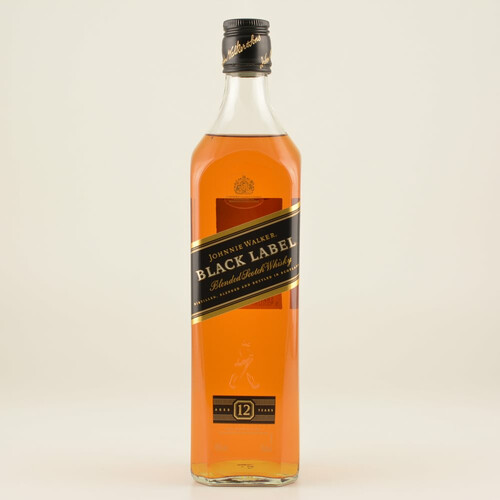 Johnnie Walker Black Label 12 Jahre 40% 0,7l + Gold Mug